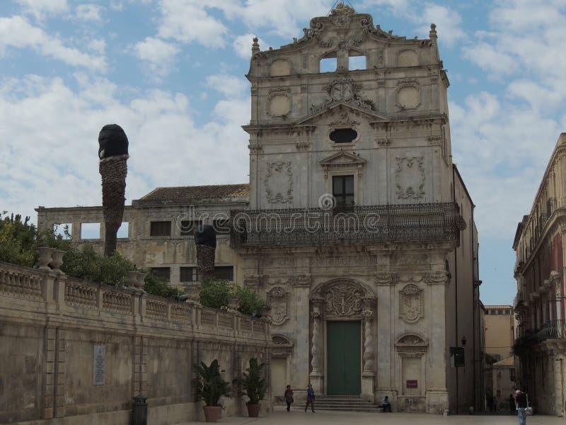 Συρακούσες - εκκλησία του ST Lucy στοκ φωτογραφίες με δικαίωμα ελεύθερης χρήσης