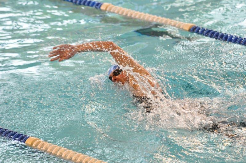 συρθείτε μπροστινός κολυμβητής στοκ εικόνες