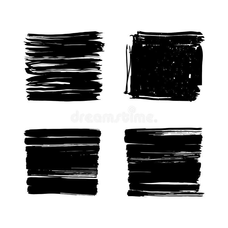 Συρμένα χέρι πλαίσια κακογραφίας με τη θέση για το κείμενο ανασκόπησης συγκεκριμένος τοίχος σύστασης επιφάνειας grunge παλαιός λε ελεύθερη απεικόνιση δικαιώματος