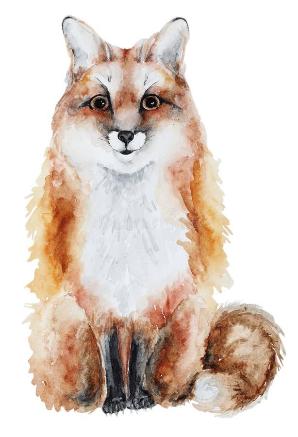 Συρμένη χέρι αλεπού απεικόνιση αποθεμάτων