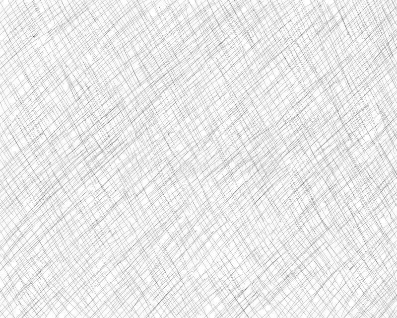 Συρμένη χέρι διαγώνιος-εκκόλαψη με ένα μολύβι Πλάγιες γκρίζες λεπτές γραμμές, κακογραφία, Doodle, επίχρισμα Διανυσματική επικάλυψ διανυσματική απεικόνιση
