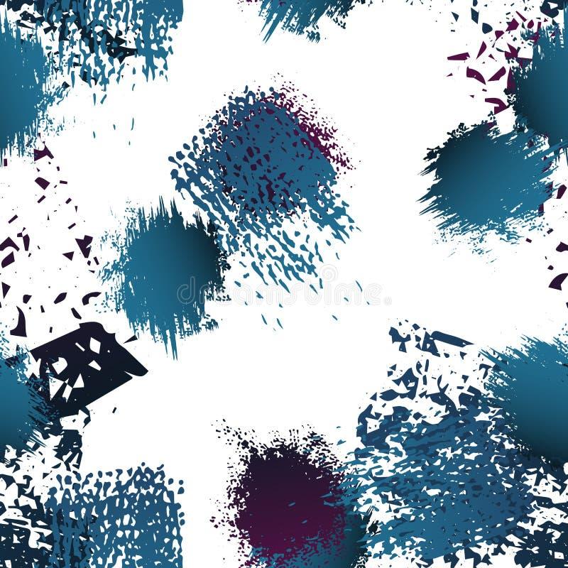 Συρμένη χέρι επιφάνεια Grunge Άνθρακας και χρώμα κιμωλίας ελεύθερη απεικόνιση δικαιώματος