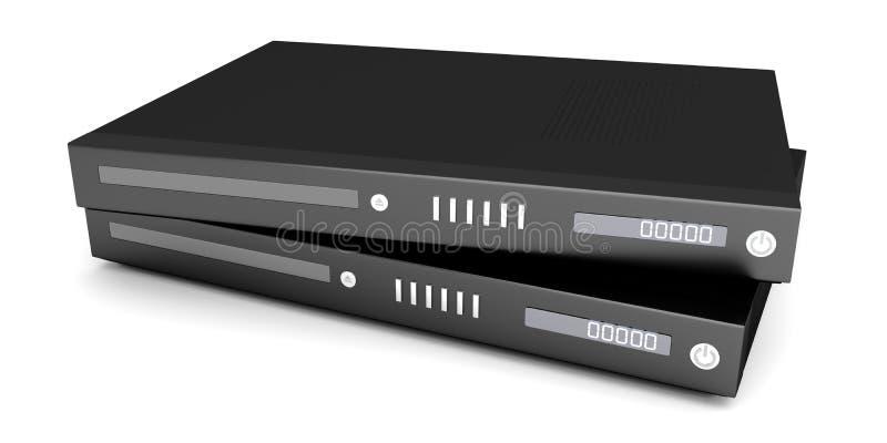 Συσκευές ακτίνων Blu απεικόνιση αποθεμάτων