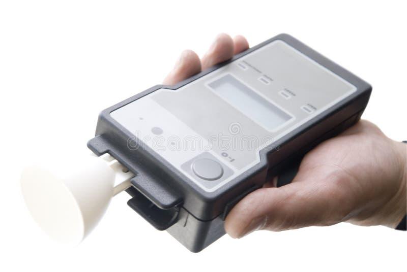 συσκευή ανάλυσης αλκοόλης στοκ εικόνα με δικαίωμα ελεύθερης χρήσης