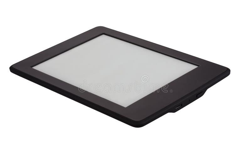 Συσκευή EBook που απομονώνεται στο άσπρο υπόβαθρο στοκ εικόνες