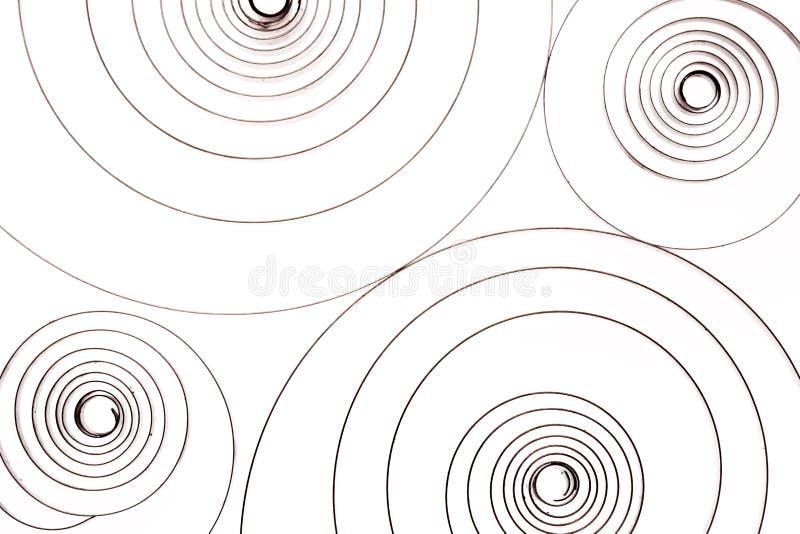 Συσκευή Steampunk στο λευκό στοκ εικόνα με δικαίωμα ελεύθερης χρήσης