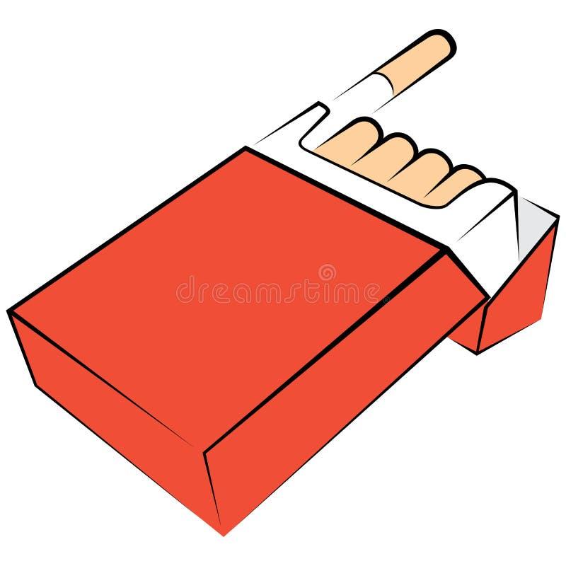 Download συσκευασία τσιγάρων διανυσματική απεικόνιση. εικονογραφία από νικοτίνη - 22778105