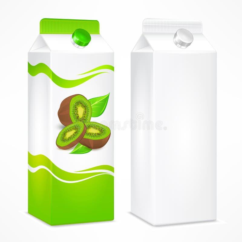 Συσκευασία χυμού ακτινίδιων απεικόνιση αποθεμάτων