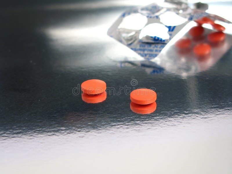Συσκευασμένα πορτοκαλιά φάρμακα