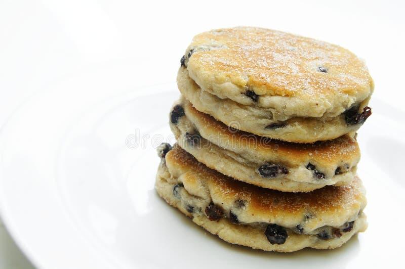 Συσσωρευμένα ουαλλέζικα κέικ στοκ φωτογραφία