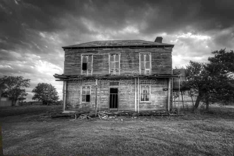 συχνασμένο σπίτι στοκ εικόνες