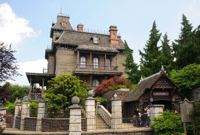 συχνασμένο Disneyland σπίτι Παρίσι στοκ εικόνα με δικαίωμα ελεύθερης χρήσης