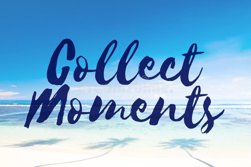 Συλλέξτε την απόλαυση περιπέτειας στιγμών ερευνά την έννοια στοκ φωτογραφίες
