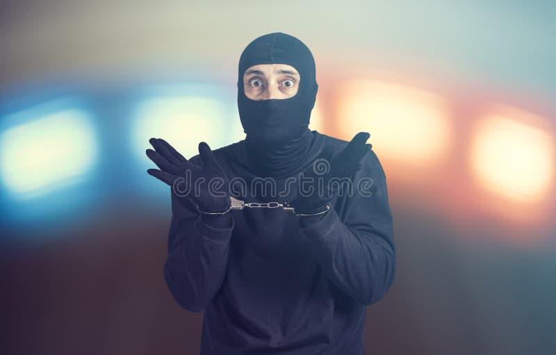 Συλλήφθείτε εγκληματίας στοκ εικόνες