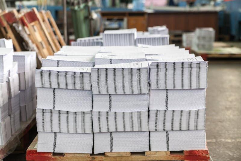 Συλλογές στο σπίτι εκτύπωσης στοκ εικόνα με δικαίωμα ελεύθερης χρήσης