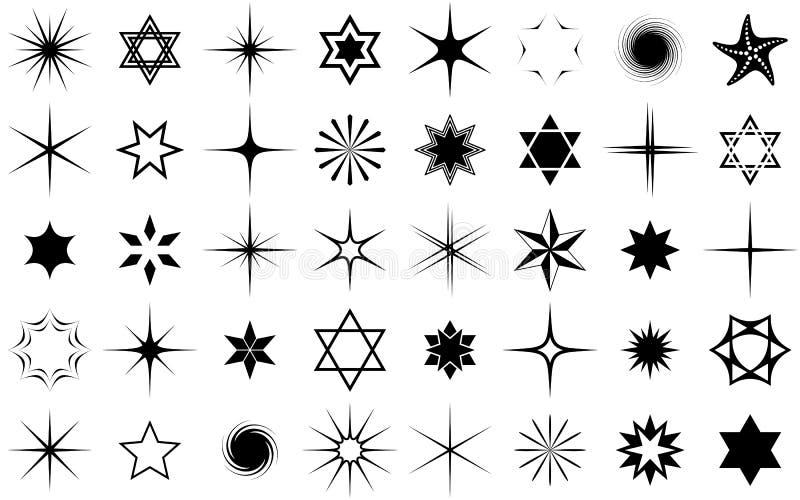 Συλλογή αστεριών απεικόνιση αποθεμάτων