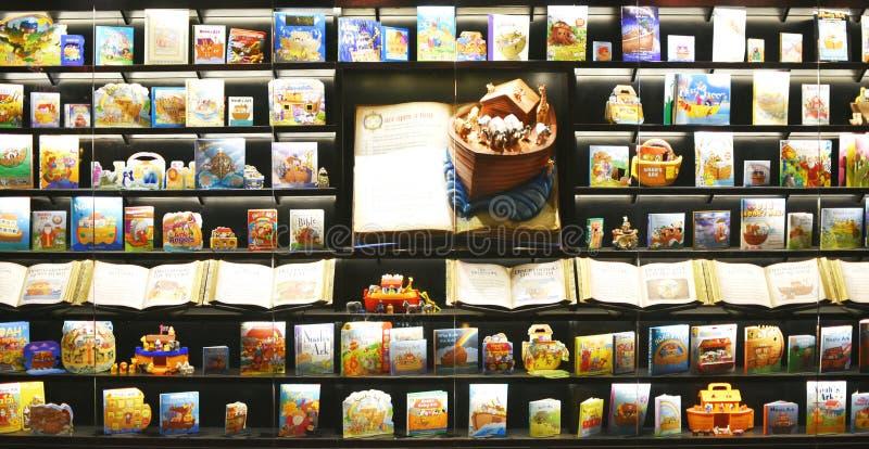 Συλλογή βιβλίων κιβωτών του Νώε ` s στοκ εικόνα με δικαίωμα ελεύθερης χρήσης