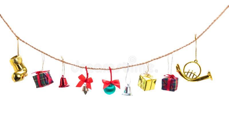 Συλλογή διακοσμήσεων Χριστουγέννων στοκ φωτογραφία με δικαίωμα ελεύθερης χρήσης