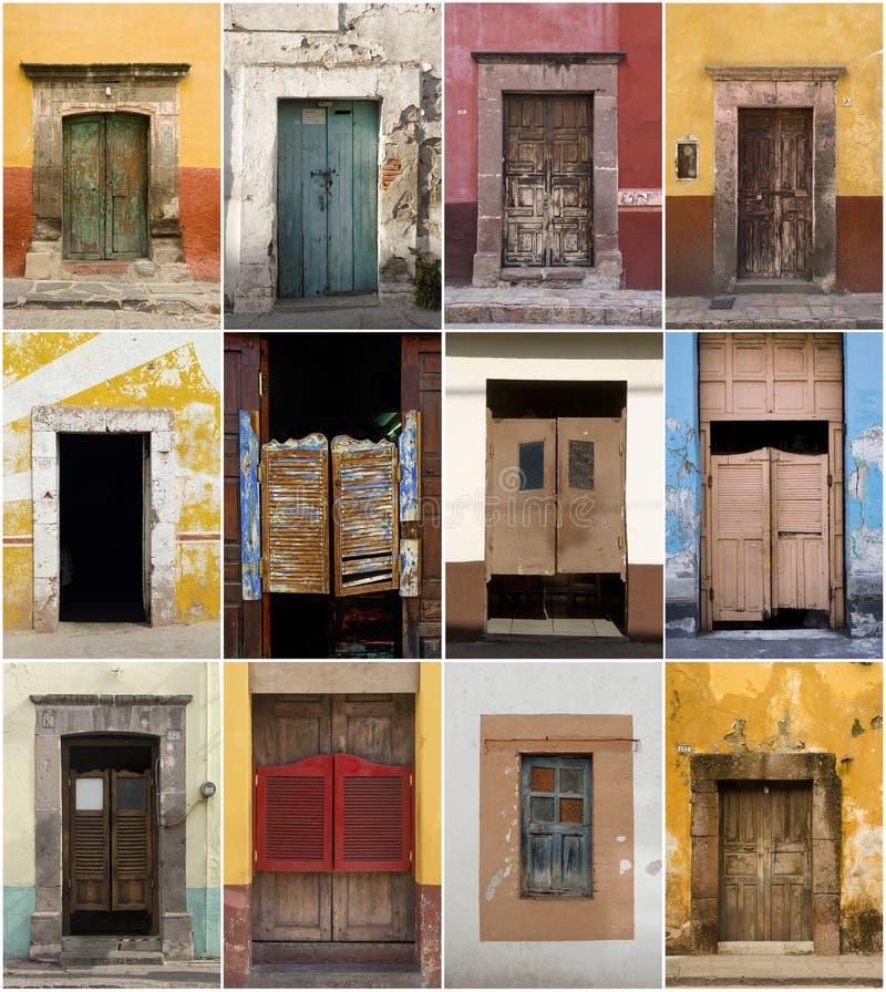 Συλλογή πορτών στοκ φωτογραφίες με δικαίωμα ελεύθερης χρήσης