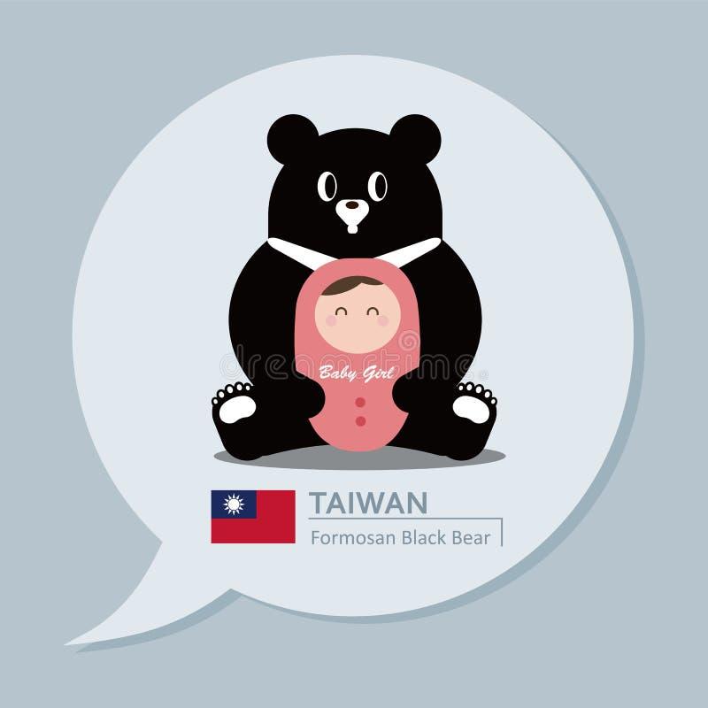 Συλλογή ταξιδιού - Ταϊβάν ελεύθερη απεικόνιση δικαιώματος