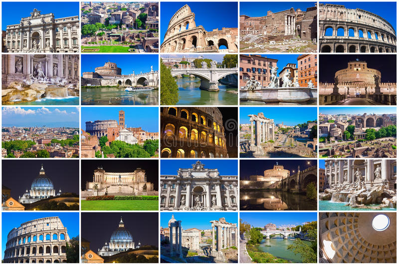 Συλλογή της Ρώμης στοκ εικόνα με δικαίωμα ελεύθερης χρήσης
