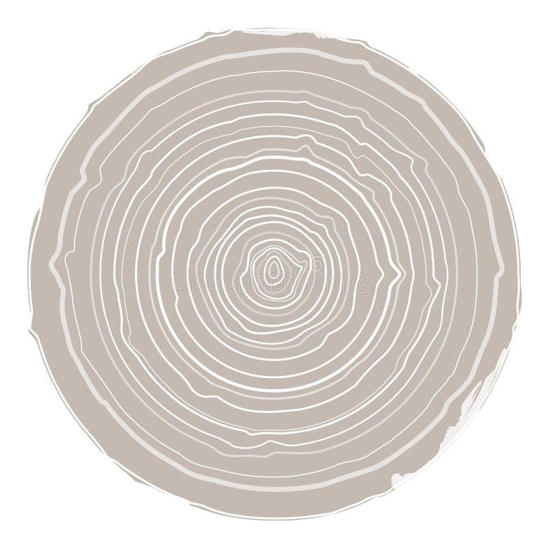 Συλλογή του υποβάθρου δέντρο-δαχτυλιδιών απεικόνιση αποθεμάτων