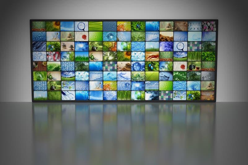 Συλλογή των εικόνων απεικόνιση αποθεμάτων