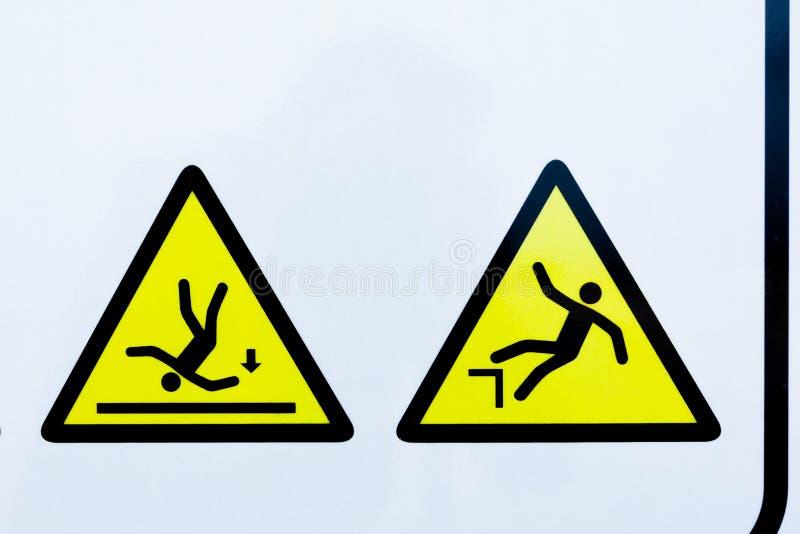 Συλλογή των προειδοποιητικών σημαδιών απεικόνιση αποθεμάτων