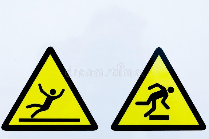 Συλλογή των προειδοποιητικών σημαδιών ελεύθερη απεικόνιση δικαιώματος