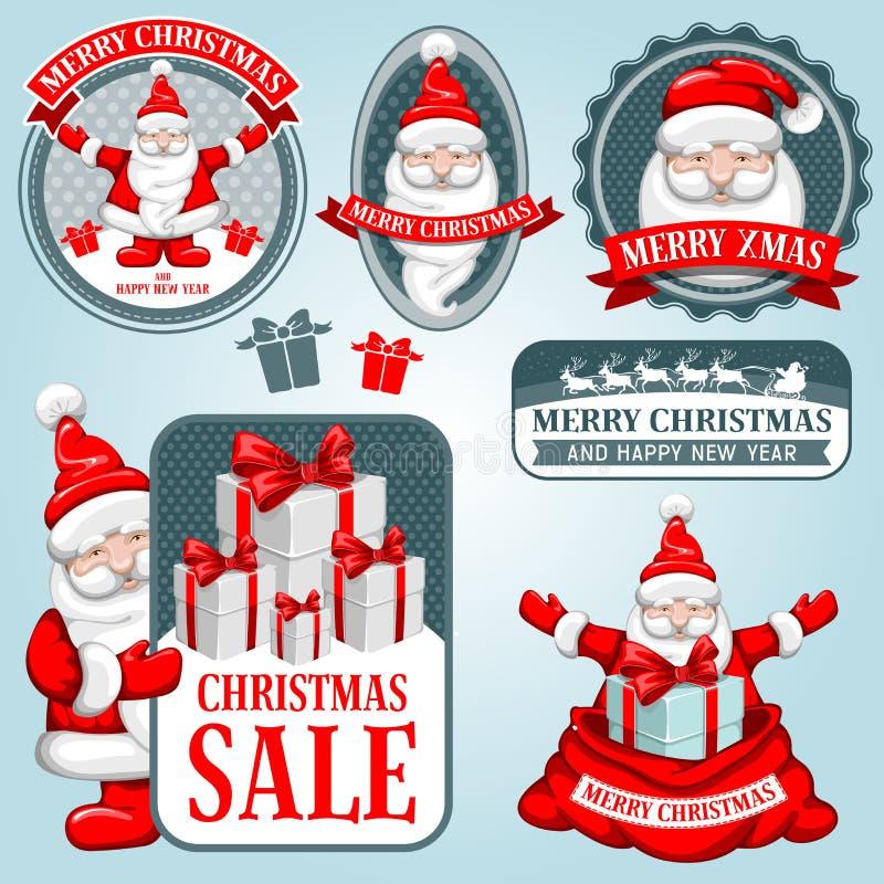 Συλλογή Χριστουγέννων διανυσματική απεικόνιση