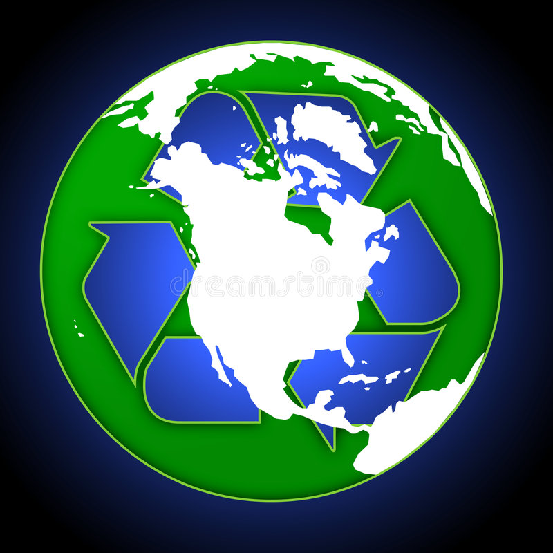 σφαίρα ανακύκλωσης ελεύθερη απεικόνιση δικαιώματος