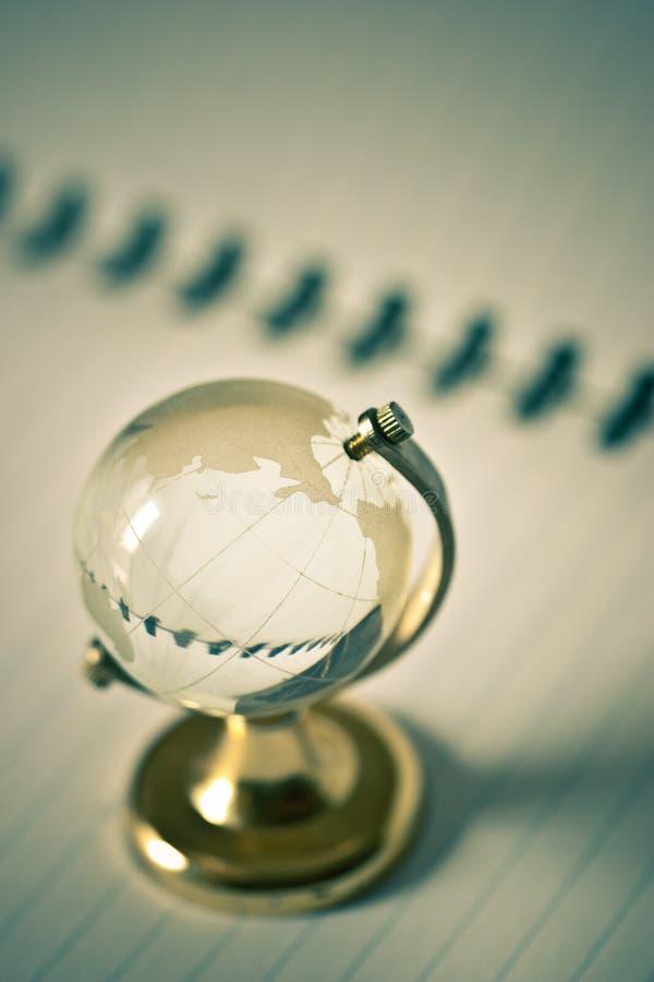 σφαίρα γυαλιού διαφανής στοκ εικόνες