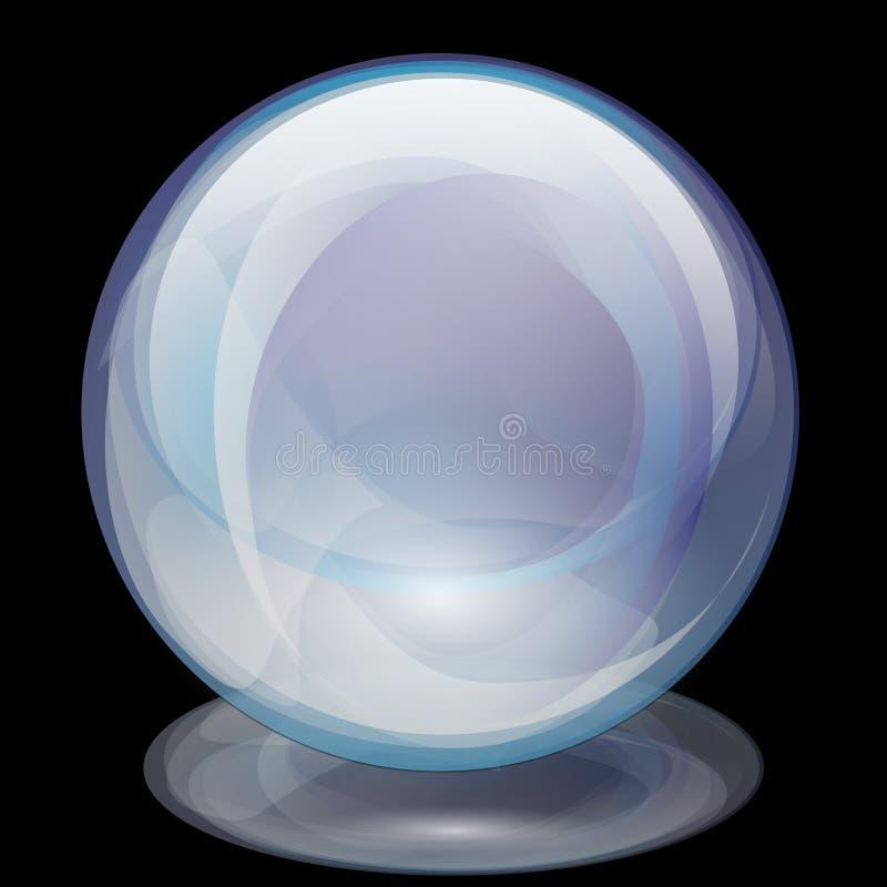 σφαίρα μαργαριταριών γυα&lam διανυσματική απεικόνιση