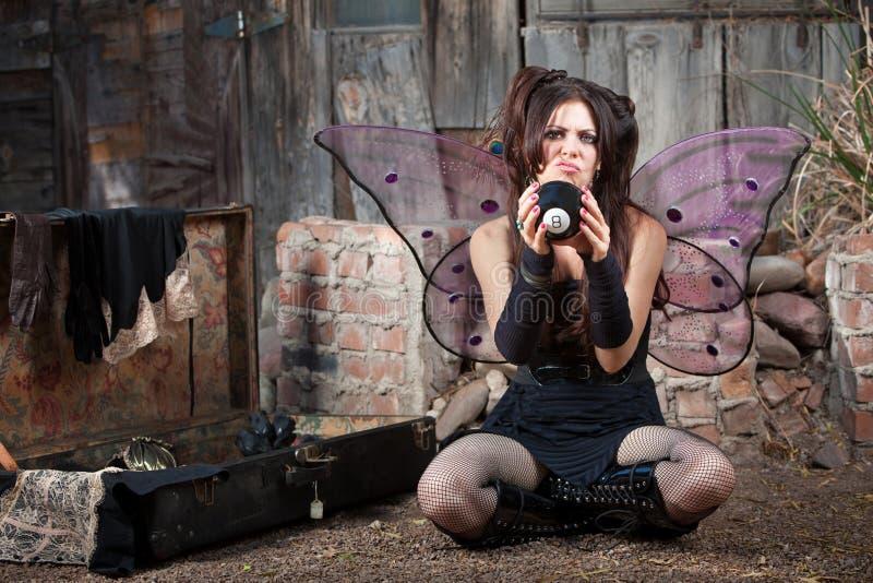 σφαίρα οκτώ νεράιδα δυστ&upsil στοκ φωτογραφίες με δικαίωμα ελεύθερης χρήσης