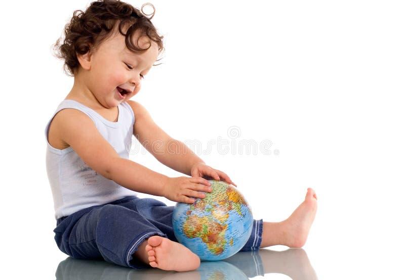 σφαίρα παιδιών στοκ εικόνα με δικαίωμα ελεύθερης χρήσης