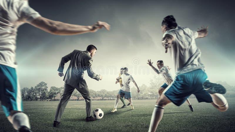 Σφαίρα παιχνιδιού επιχειρηματιών στοκ φωτογραφίες με δικαίωμα ελεύθερης χρήσης