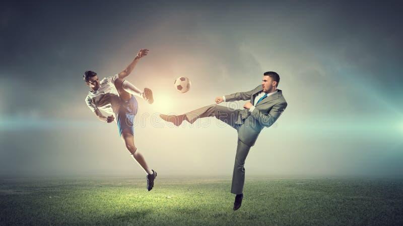 Σφαίρα παιχνιδιού επιχειρηματιών στοκ φωτογραφία με δικαίωμα ελεύθερης χρήσης