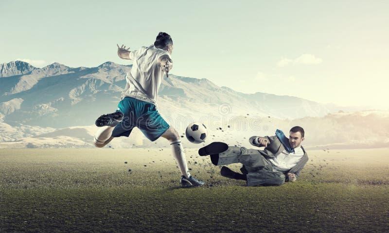 Σφαίρα παιχνιδιού επιχειρηματιών στοκ εικόνες