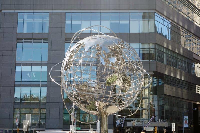 Σφαίρα πόλεων της Νέας Υόρκης ΗΠΑ harlem bronx στοκ φωτογραφίες