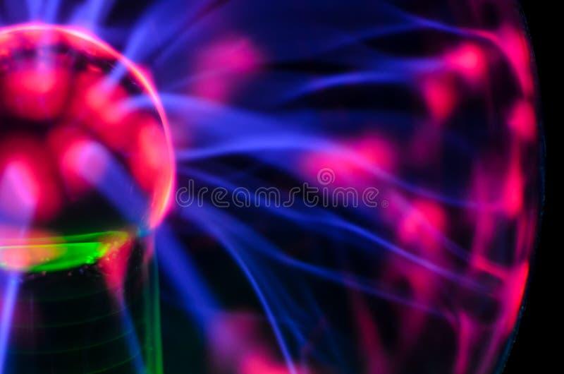 Σφαίρα τέσλα στοκ φωτογραφία με δικαίωμα ελεύθερης χρήσης