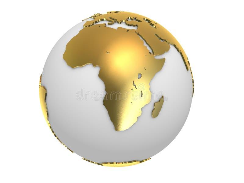 σφαίρα χρυσή απεικόνιση αποθεμάτων