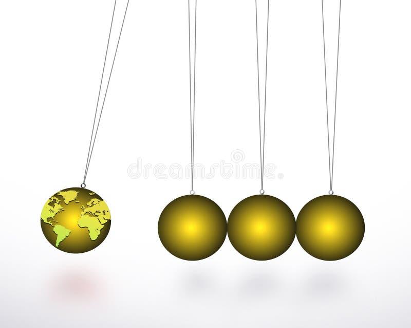 σφαίρα Newton απεικόνιση αποθεμάτων