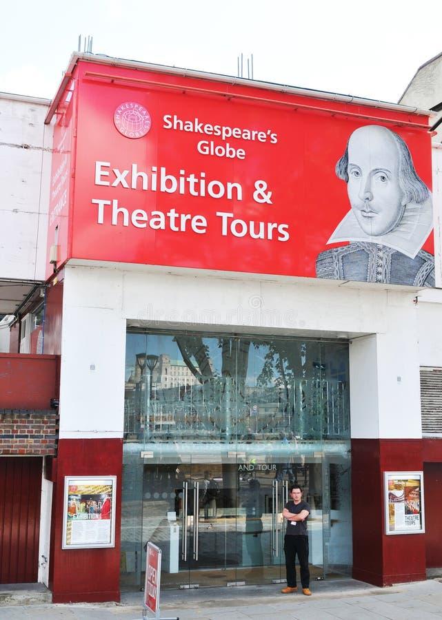 Σφαίρα Shakespeare στοκ φωτογραφία με δικαίωμα ελεύθερης χρήσης
