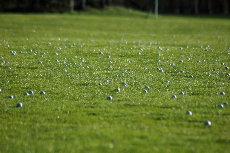 Σφαίρες γκολφ στοκ εικόνες