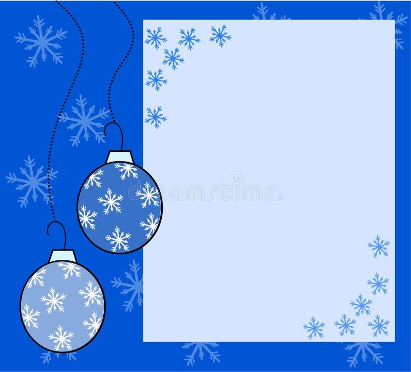 Σφαίρες Χριστουγέννων απεικόνιση αποθεμάτων