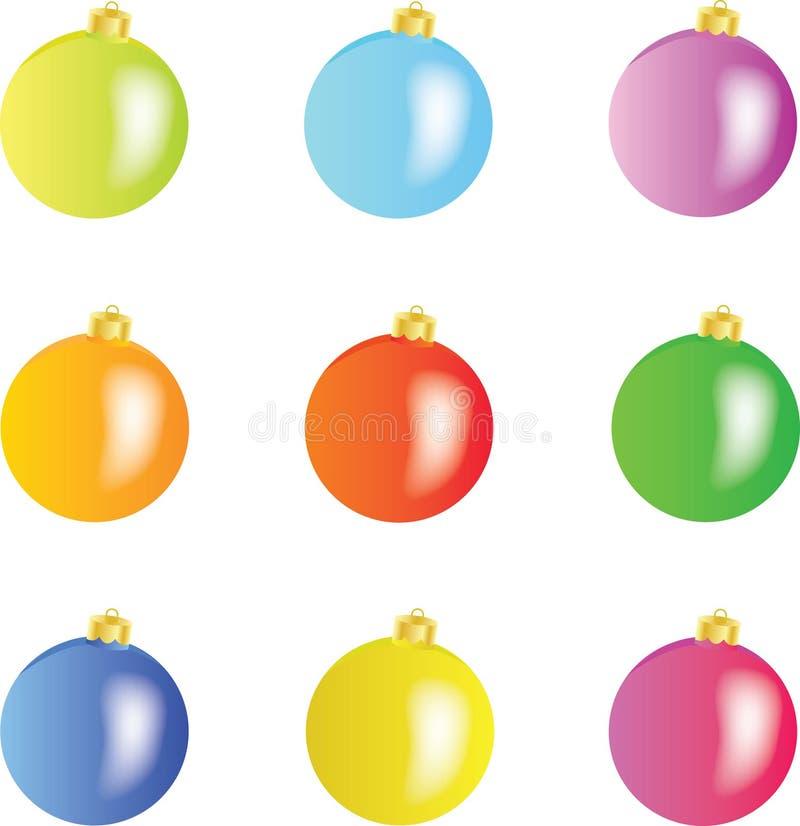 Σφαίρες Χριστουγέννων -   απεικόνιση αποθεμάτων
