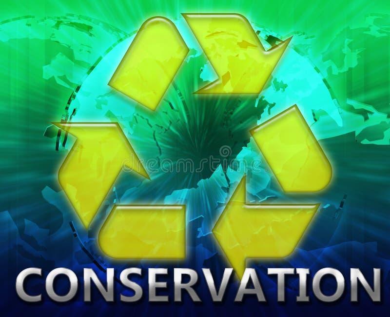 σφαιρικό σύμβολο ανακύκ&lambda απεικόνιση αποθεμάτων