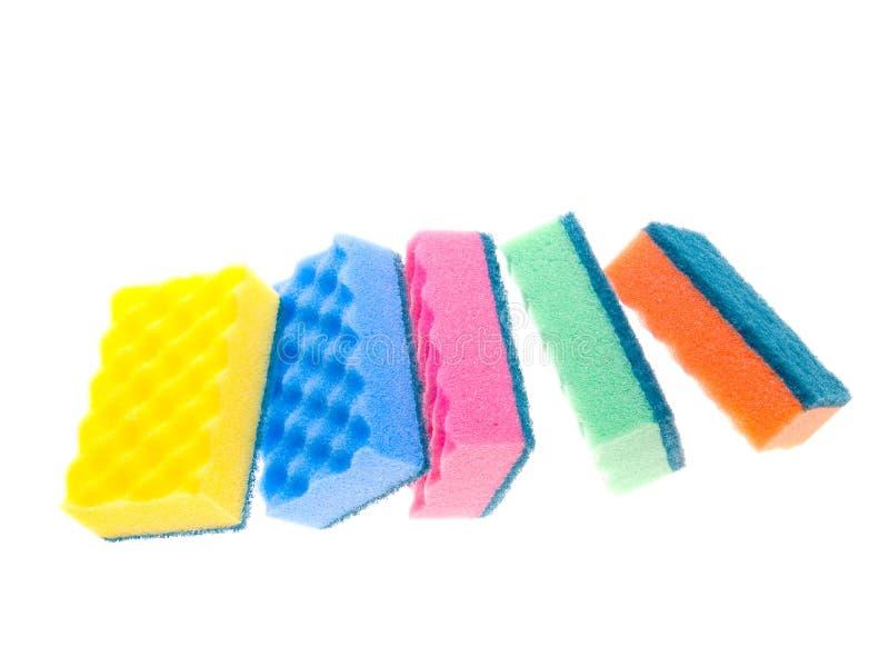 σφουγγάρια χρώματος στοκ εικόνες με δικαίωμα ελεύθερης χρήσης