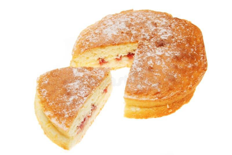 σφουγγάρι σμέουρων κέικ στοκ φωτογραφίες με δικαίωμα ελεύθερης χρήσης