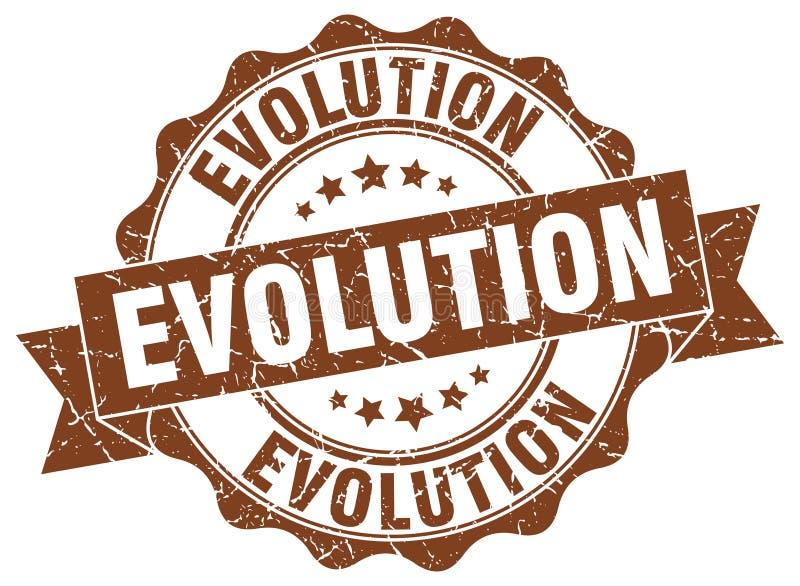 σφραγίδα εξέλιξης γραμματόσημο απεικόνιση αποθεμάτων
